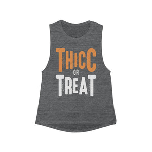 Thicc Or Treat Women's Muscle Tank