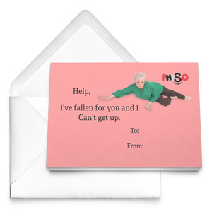 I've Fallen For You Card