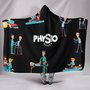 Physical Therapy Hooded Blanket