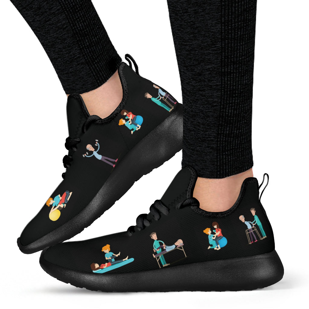 Physio Memes Mesh Shoes Physical Therapy Shoes