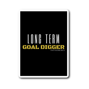 Long Term GOAL Digger Sticker