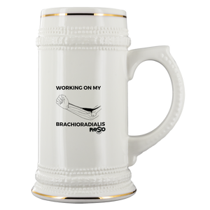 Working on my Brachioradialis Beer Stein