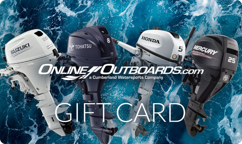 Online Outboards Gift Card for Outboard Motors and More