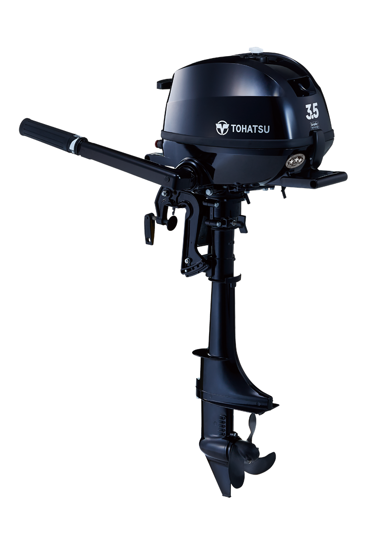 2020 Tohatsu 3.5 HP MFS3.5CL Outboard Motor