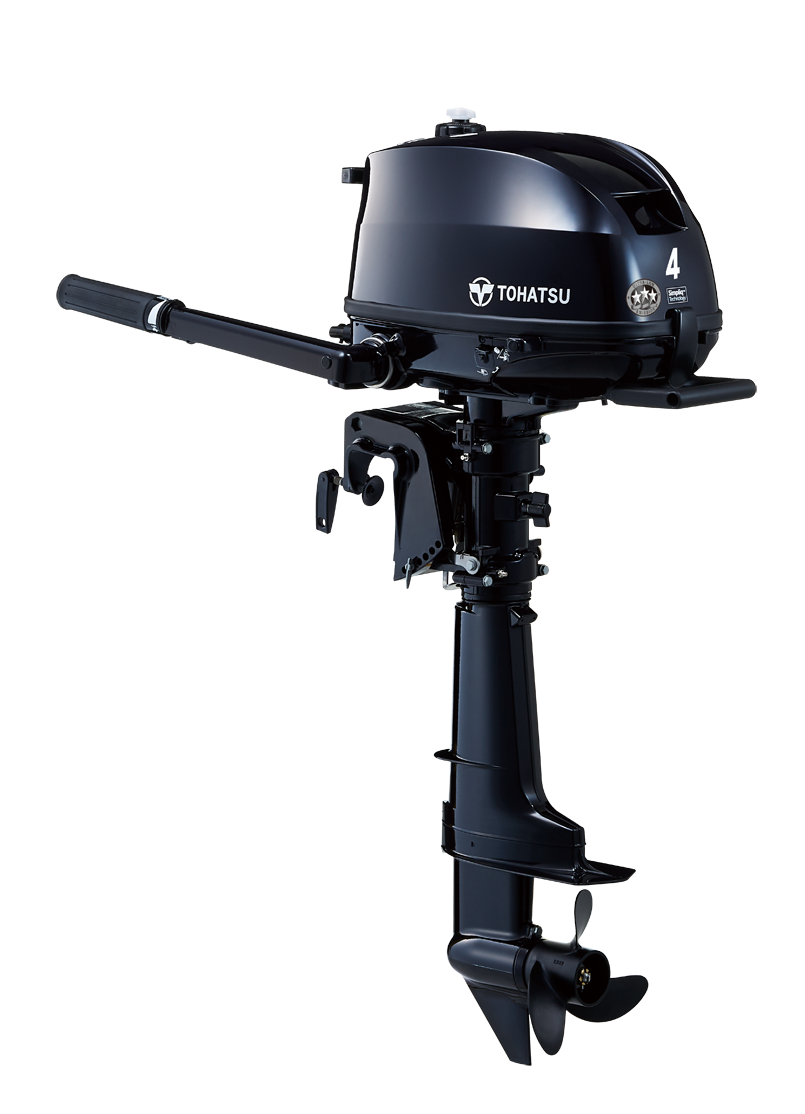 2020 Tohatsu 4 HP MFS4DDL Outboard Motor