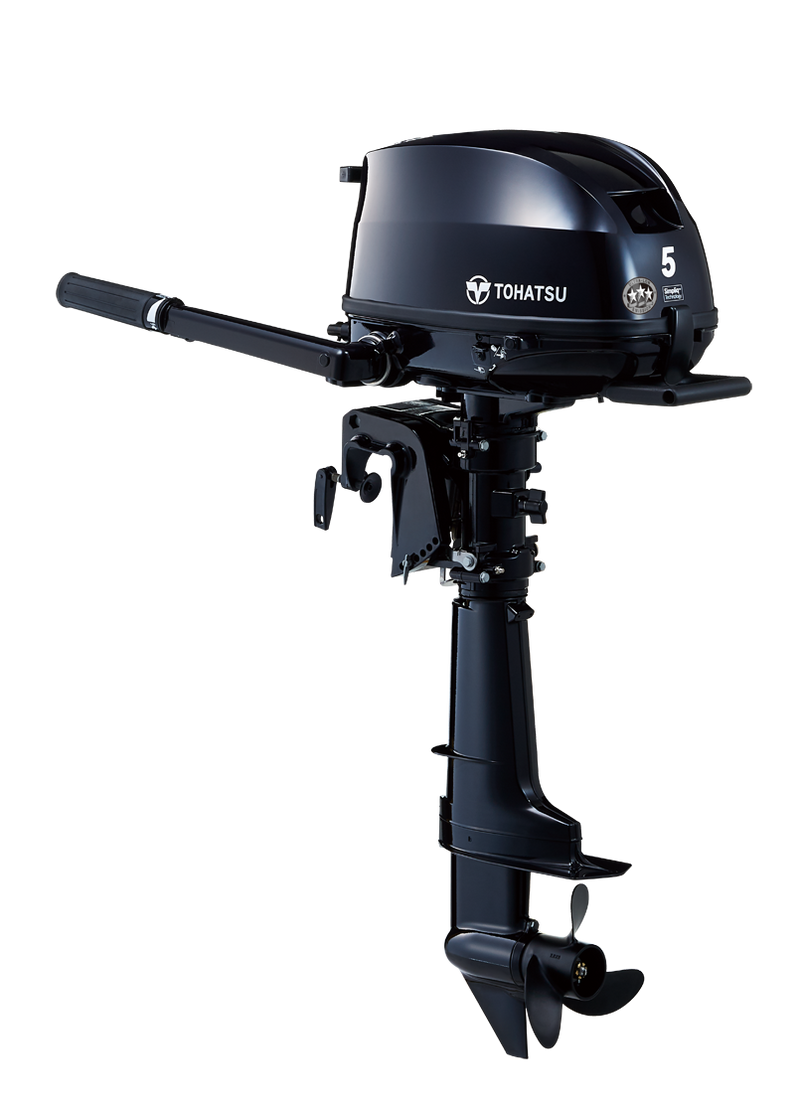2021 Tohatsu 5 HP MFS5DS Outboard Motor