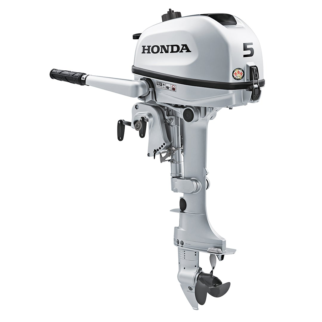 Best Outboard Motor 2020 2020 HONDA 5 HP BF5DHSHNA Outboard Motor – OnlineOutboards.com