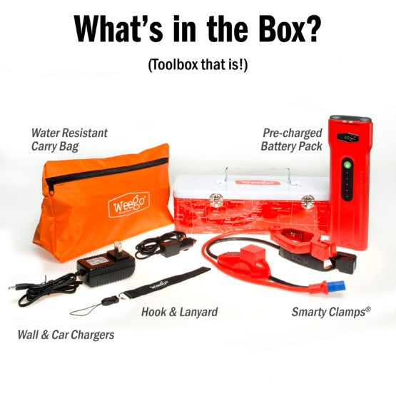Weego 66 Jump Starter & Portable Power