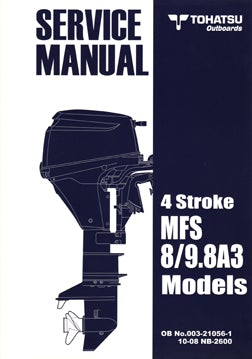 Service Manual - Tohatsu - 8/9.8A3 4STR