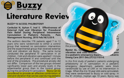 buzzy clinical trials