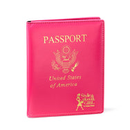 Fiji Fuchsia Passport Cover