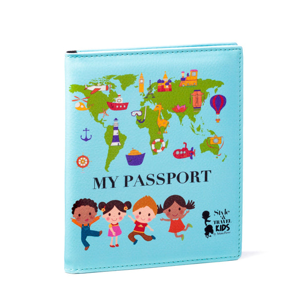 My First Passport - Blue