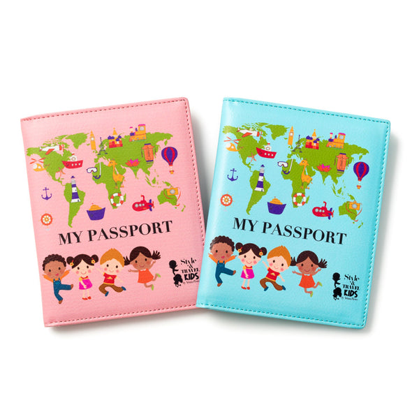 My First Passport - Boy & Girl Set