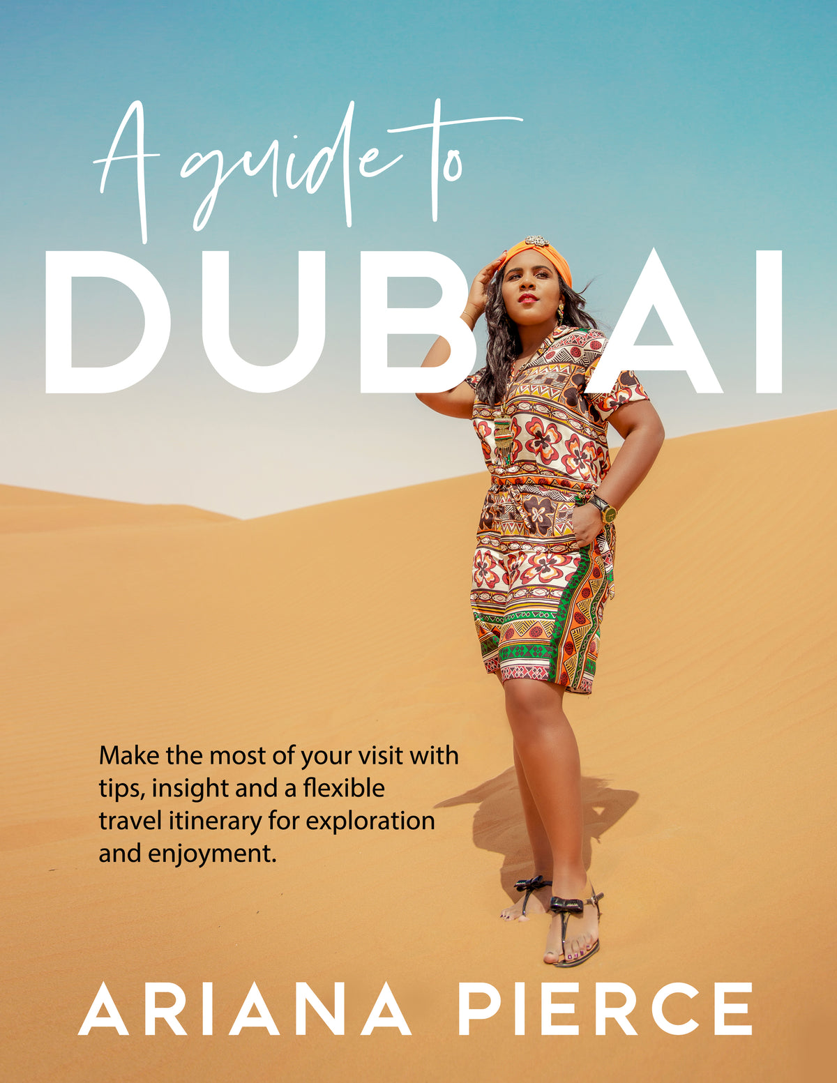A Guide To Dubai (Printable Digital Download)