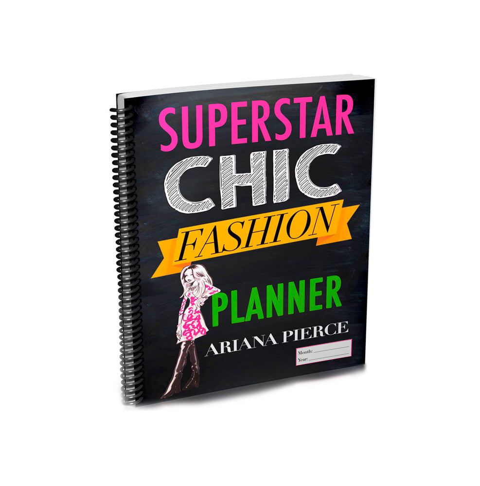 Superstar Chic Fashion Planner
