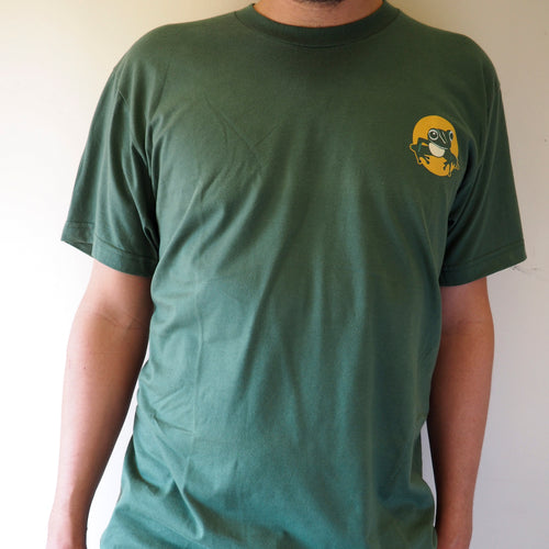 Short sleeved unisex t-shirt - pine green