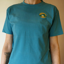 Short sleeved youth t-shirt - marine blue