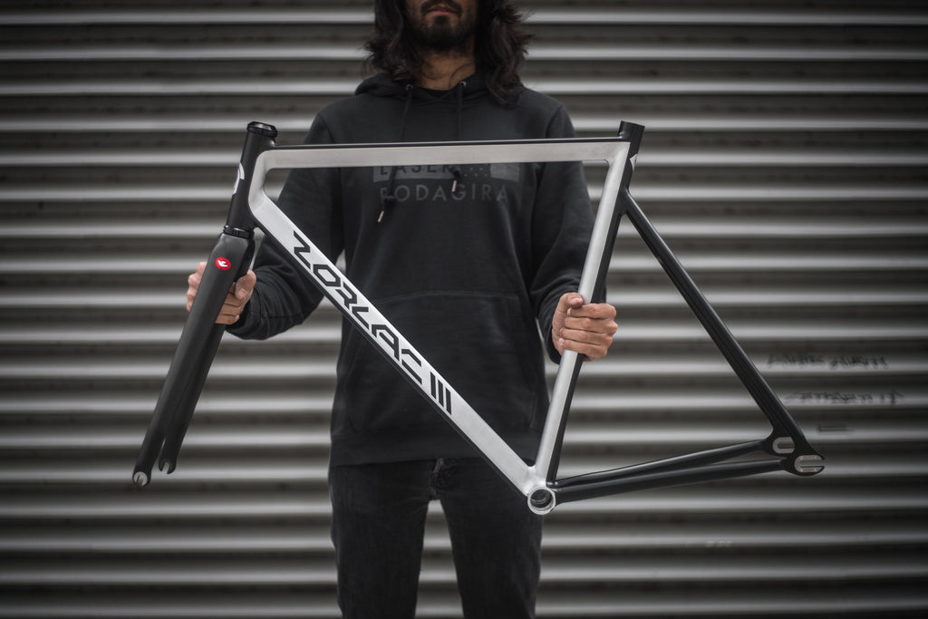 BIG LEBIKESKI CUSTOM ZORLAC3 - RAW BLACK