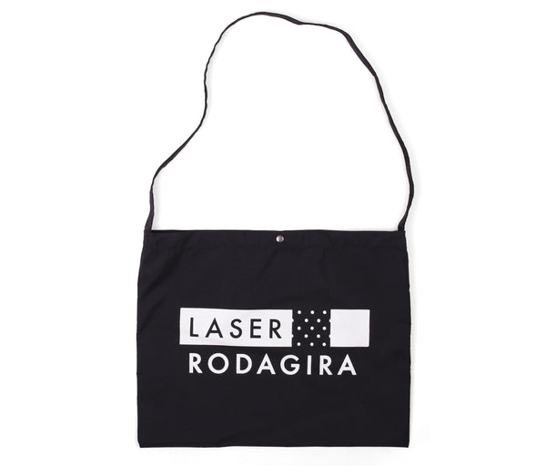 LASER X RODAGIRA WATERPROOF CROSS BAG BLACK