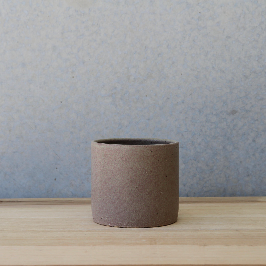 Sample- Minimalist Planter Small Sienna