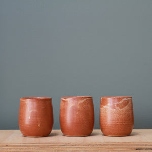Fire on Clay Tumbler- Regular