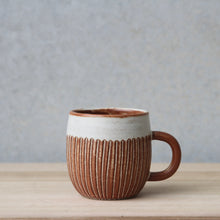 Carved Handled Cup Rust - Regular - Large