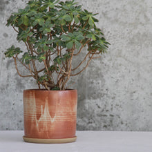 Fire on Clay Planter