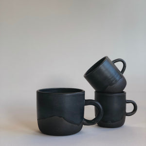 Noir Handled Cup- Regular/Espresso