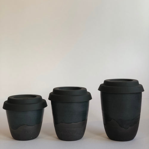 Travel Cup- Noir- Small/Regular/Large