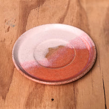 Handled Cup- Pink Sunsets- regular- large- saucer