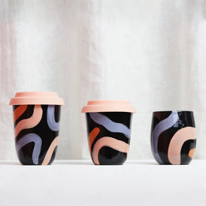 Arcadia Scott X Mosey Me- Travel Cup Regular Black