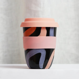 Arcadia Scott X Mosey Me- Travel Cup Large Black