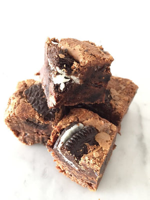 Deluxe - 24 bite-size brownies
