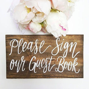 Please sign the guestbook