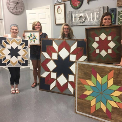 10/19/2018 @ (6:30pm) Wooden Barn Quilts Workshop *prices vary by project (Locust Grove)