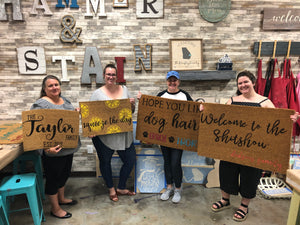 Doormats Workshop (Locust Grove)