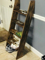 Shoe Ladder & Organized
