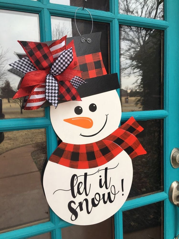 11/17/2019 @ (4:00pm) Holiday Door Hangers Workshop (Locust Grove)