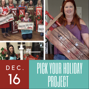 12/16/2017 (6pm) Pick Your Holiday Project (Ocala)
