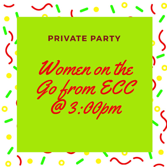 12/08/2019 @ (3:00pm) Women on the Go from ECC * Prices Vary by project. (Locust Grove)
