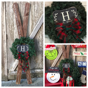 12/02/2017 (6pm) Ski Wreath Workshop (Gainesville)