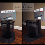 Hammer at Home Personalized Basketball Goal Waste basket