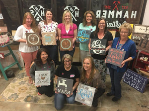 Hammer @ Home $25 Squares Pick Your Design Squares (Locust Grove)
