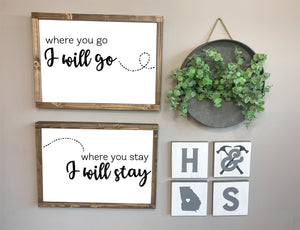 Hammer @ Home Couples Signs