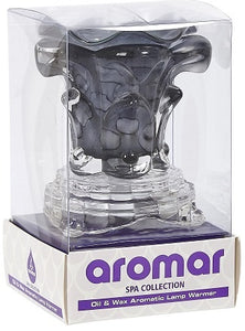 Dimmer Electric Oil Warmer Lamp Black Glass