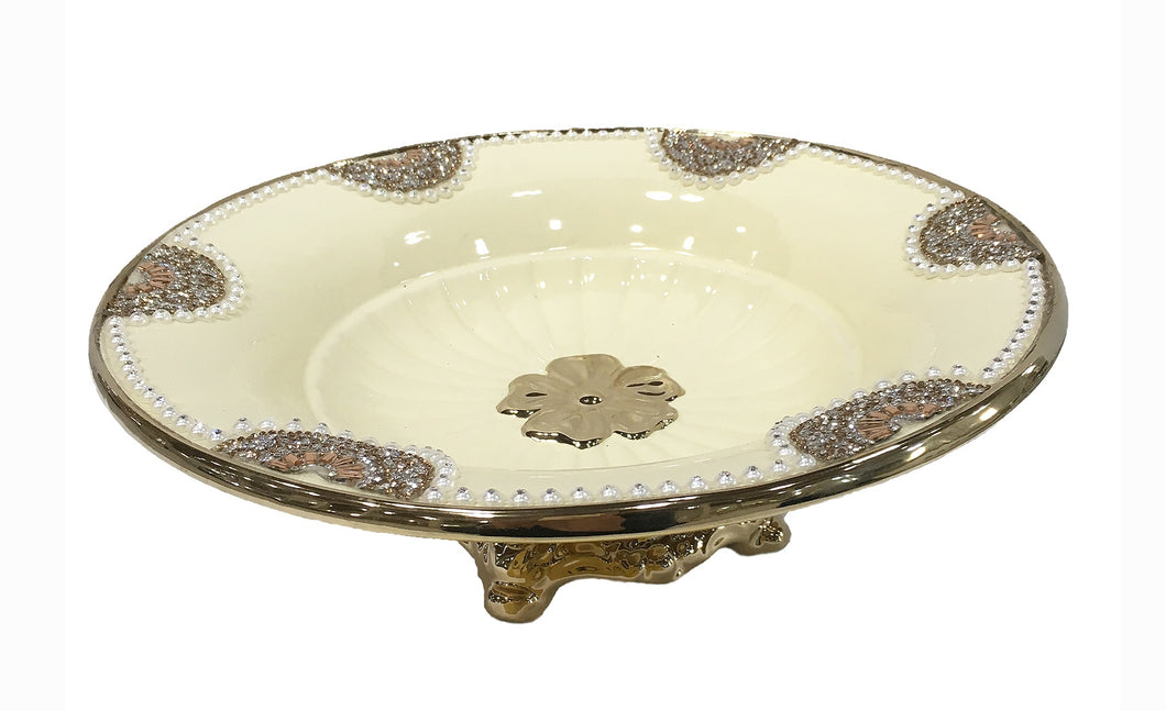 Deco Footed Plate