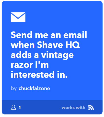 Shave HQ email notifications