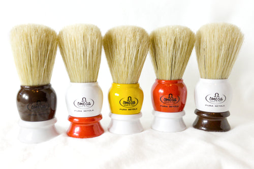 Omega 10075 Boar Bristle Shaving Brush