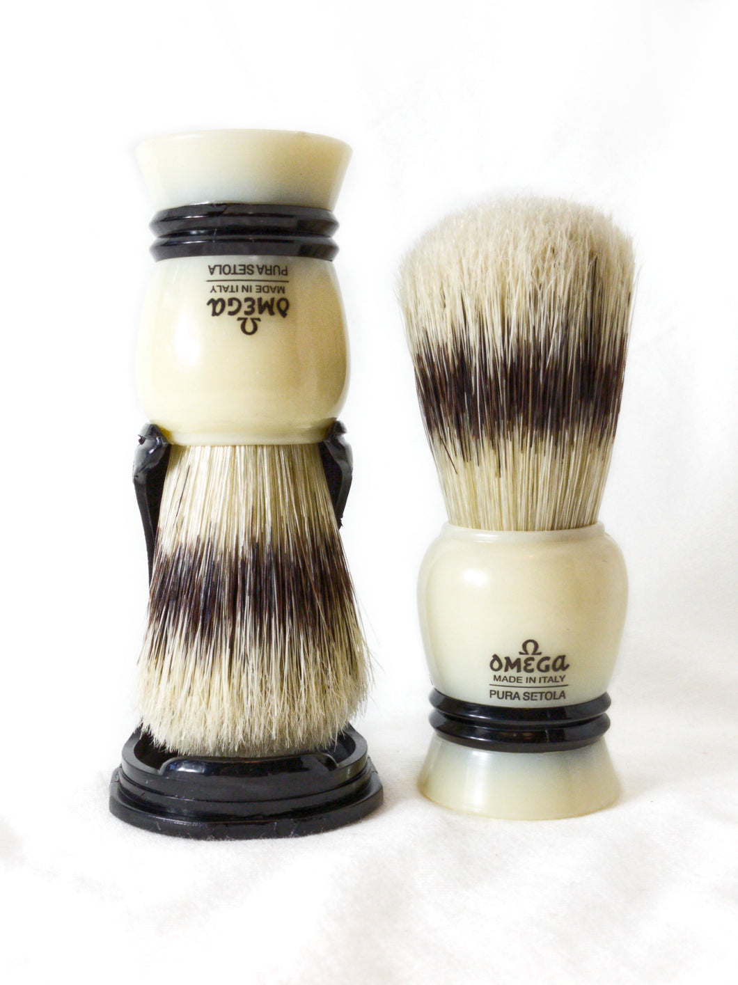 Omega 80267 Boar Bristle Shaving Brush