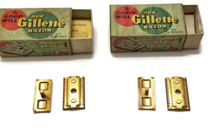 Gillette Goodwills, Standard #160 models, early 1930s
